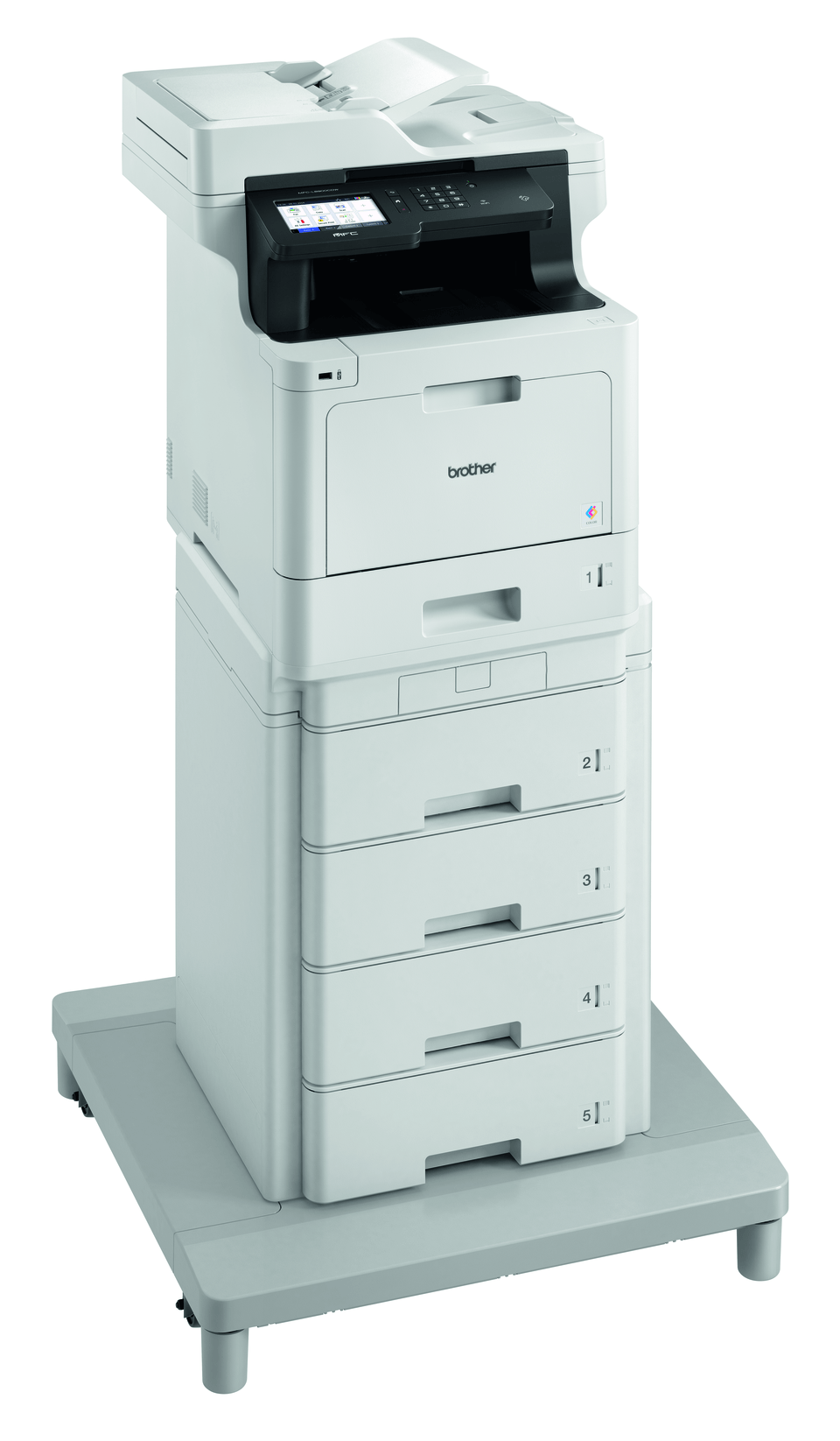 Brother MFCL8900CDWMT profesjonell multifunksjon farge laserskriver med ekstra stor papirkapasitet 3