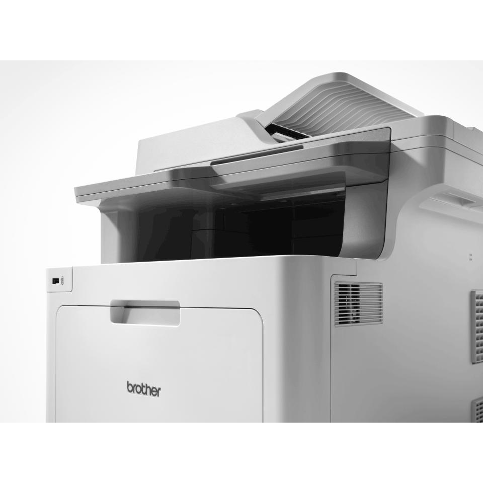 Brother MFC-L9570CDW profesjonell multifunksjon farge laserskriver med allsidig papirhåndtering 3