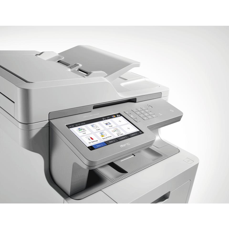 Brother MFCL9570CDW profesjonell multifunksjon farge laserskriver med allsidig papirhåndtering 7