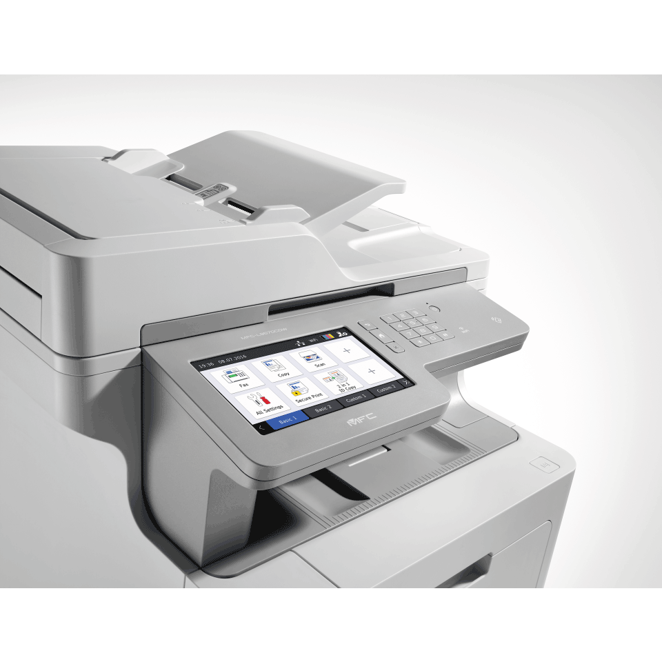 Brother MFCL9570CDW trådløs multifunksjon farge laserskriver med NFC og berøringsskjerm 7