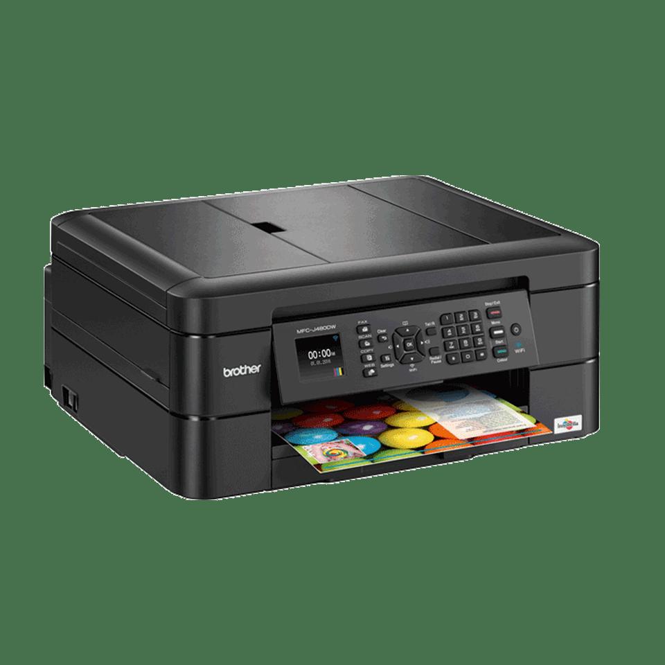 Brother MFCJ480DW kompakt multifunksjon farge blekkskriver  3