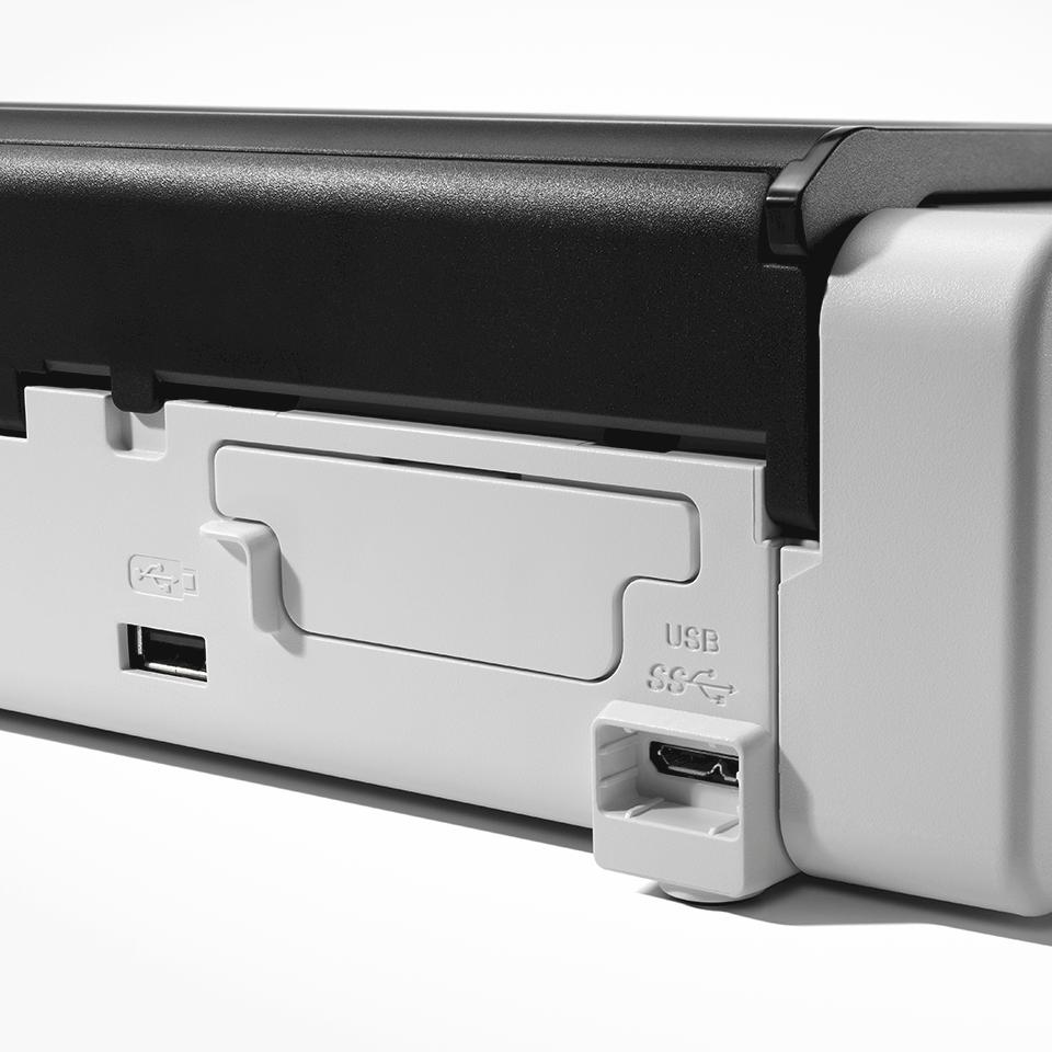 Brother ADS1200 mobil og kompakt dokument skanner 7