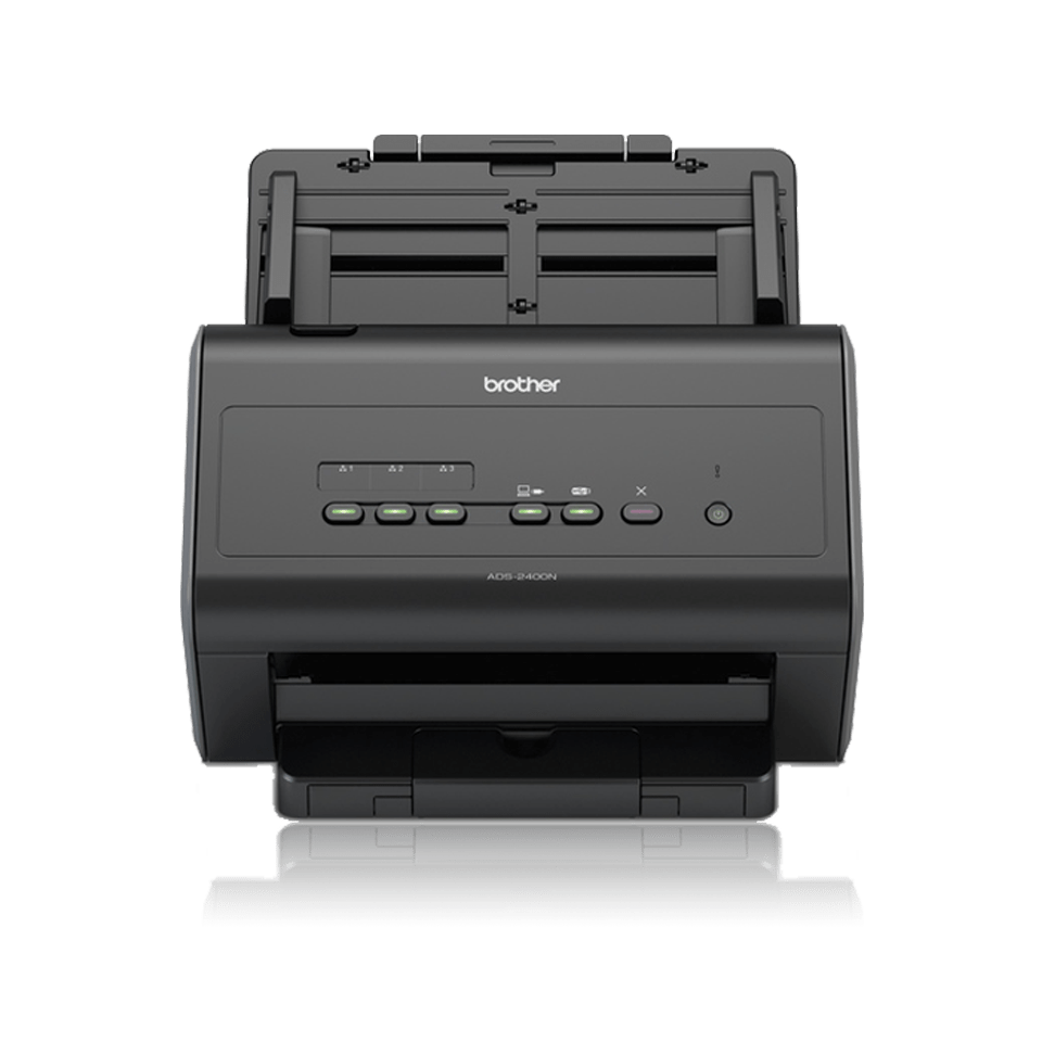 Brother ADS2400N dokument scanner front