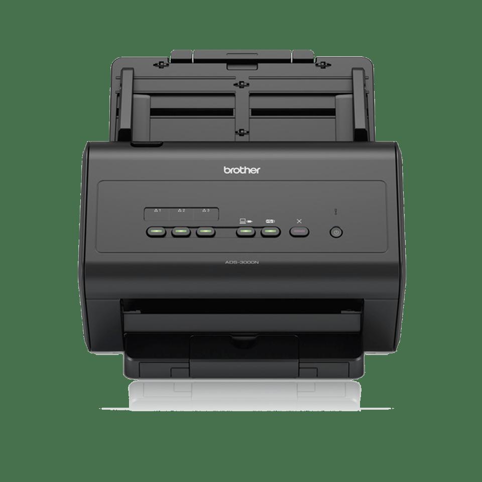 Brother ADS3000N dokumentscanner front