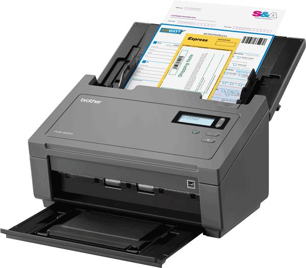 PDS6000 profesjonell dokumentskanner 4