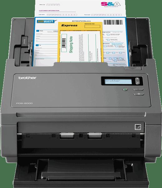 PDS6000 profesjonell dokumentskanner 3
