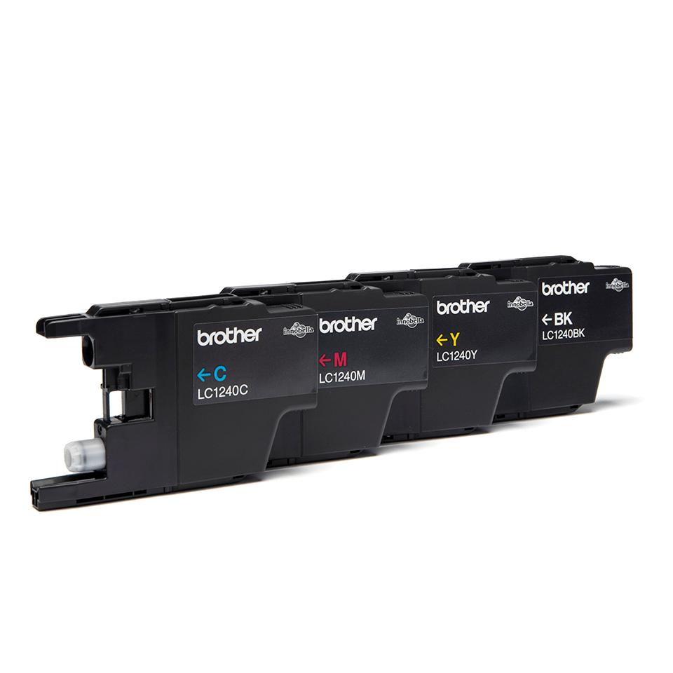 Original Brother LC1240VALBPDR høykapasitet blekkpatroner i multipack  2