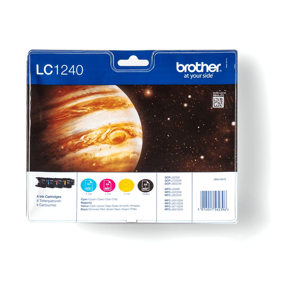 Original Brother LC1240VALBPDR høykapasitet blekkpatroner i multipack