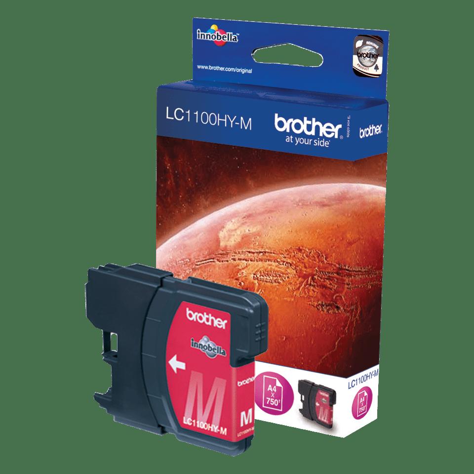 Original Brother LC1100HYM høykapasitet blekkpatron – magenta