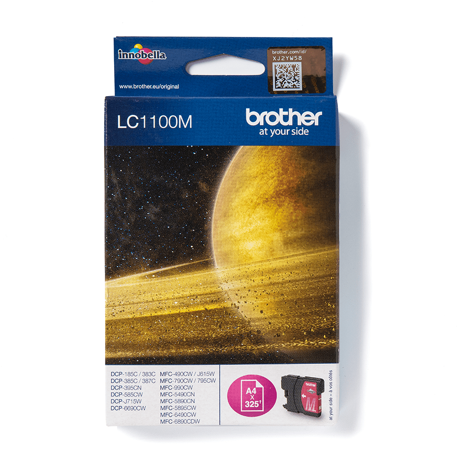Original Brother LC1100M blekkpatron – Magenta