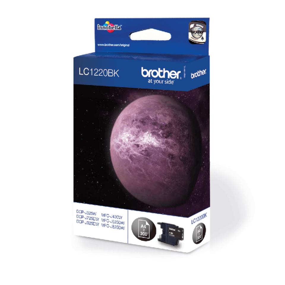 Original Brother LC1220BK blekkpatron – sort 2