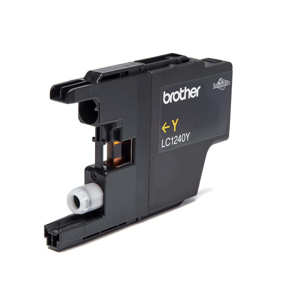 Original Brother LC1240Y høykapasitet blekkpatron – gul 2