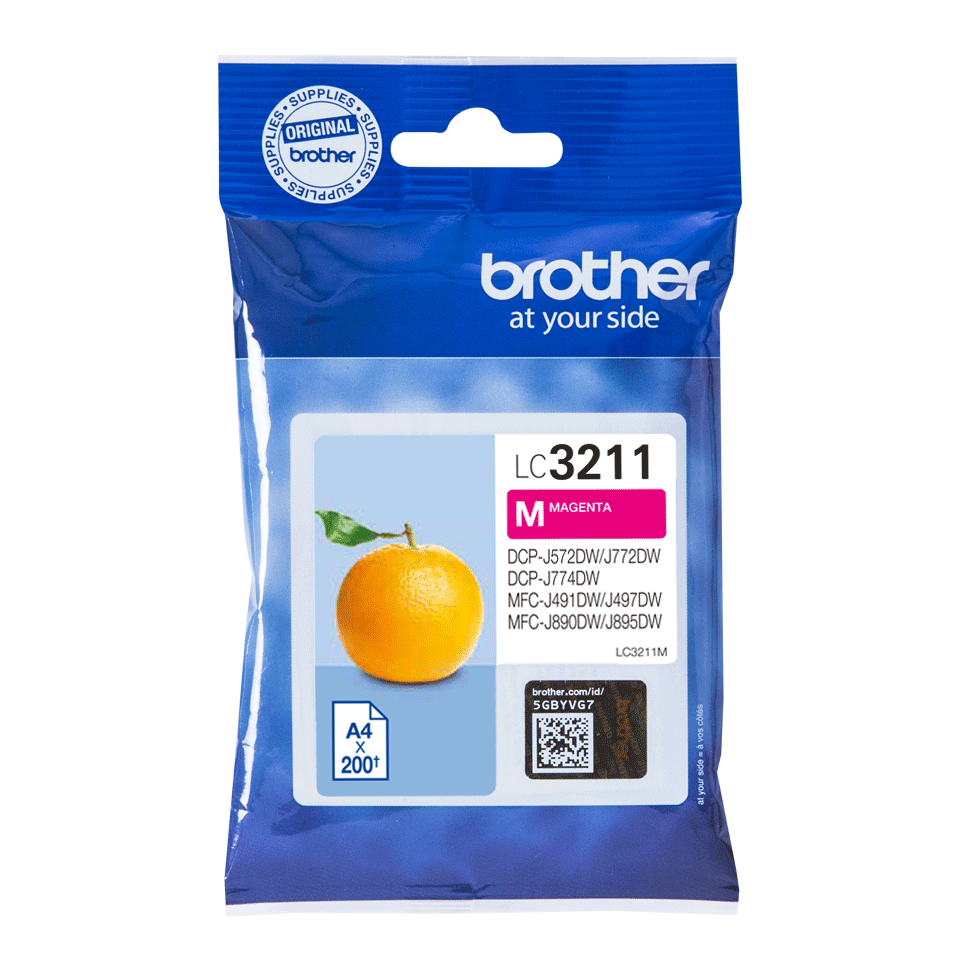 Brother original LC3211M blekkpatron - magenta