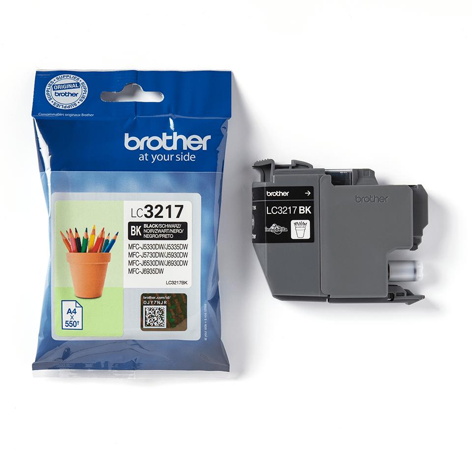 Original Brother LC3217BK blekkpatron – sort 3