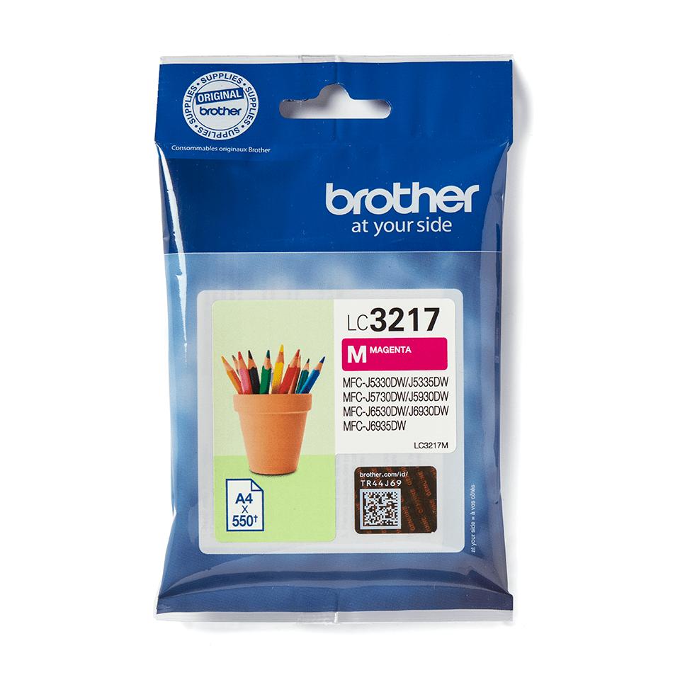 Original Brother LC3217M blekkpatron – magenta 2