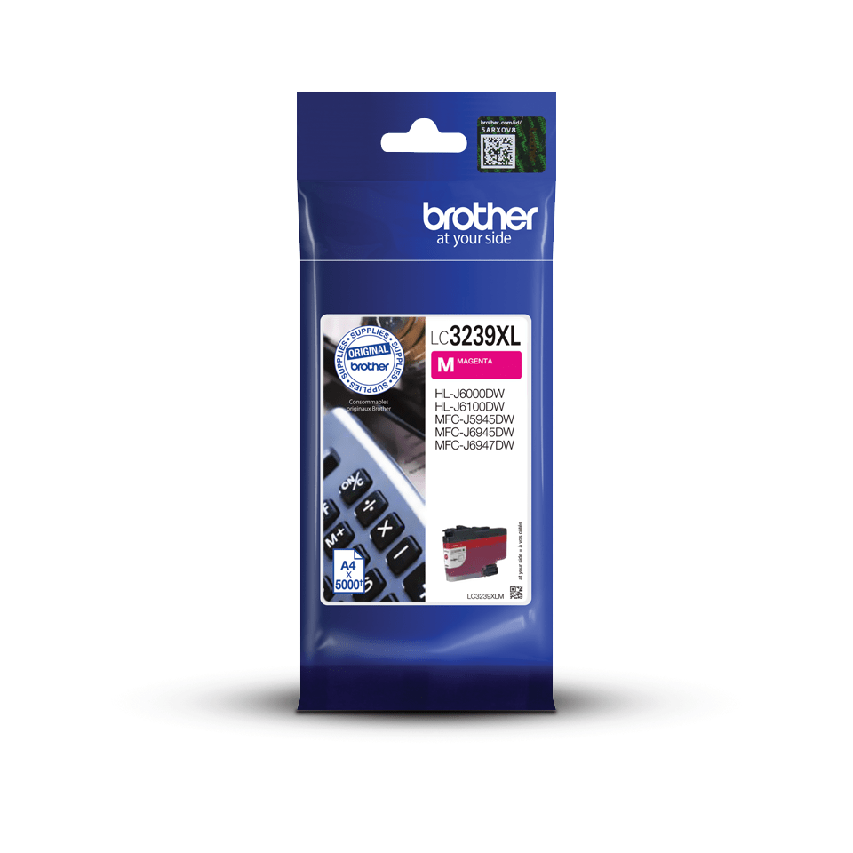 Brother original LC3239XLM XL høykapasitet blekkpatron  – magenta