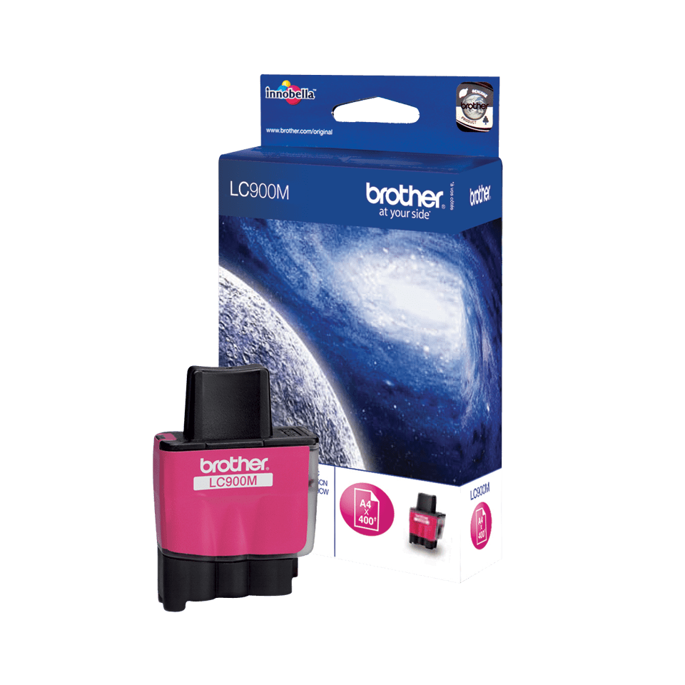 Original Brother LC900M blekkpatron – magenta