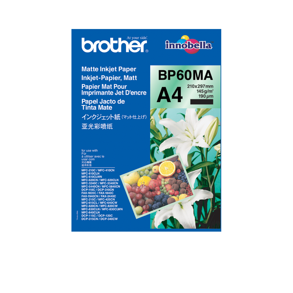 Brother original BP60MA matt A4 blekkpapir
