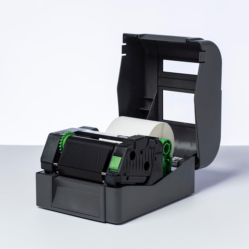 BSP1D300110 sort bånd i premium voks/harpiks for termisk overføring 2
