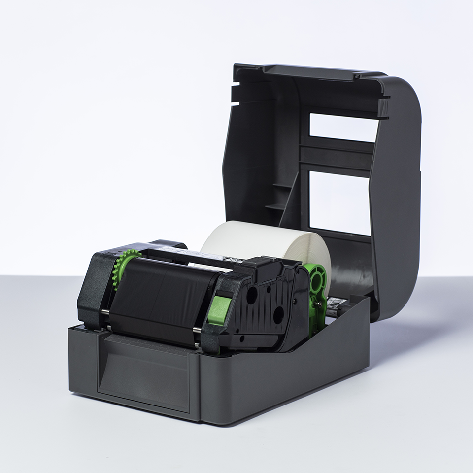 BWP1D300110 sort bånd i premium voks for termisk overføring 2