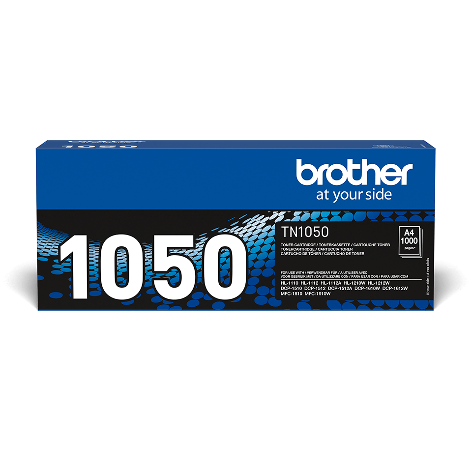 Brother TN1050 original toner sort
