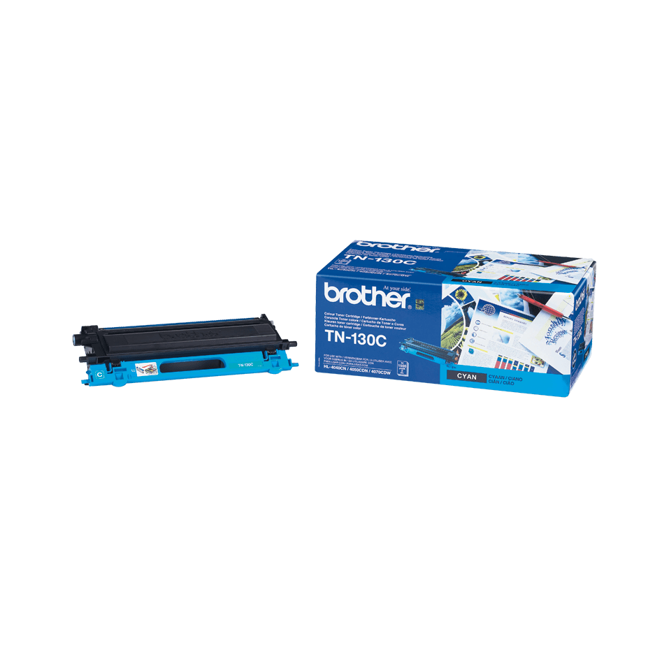 Original Brother TN130C toner – cyan