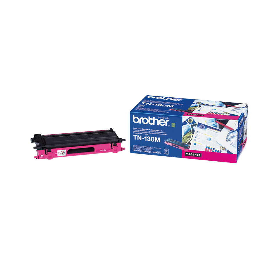 Original Brother TN130M toner – magenta