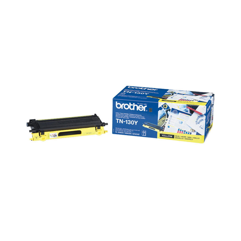 Original Brother TN130Y toner – gul
