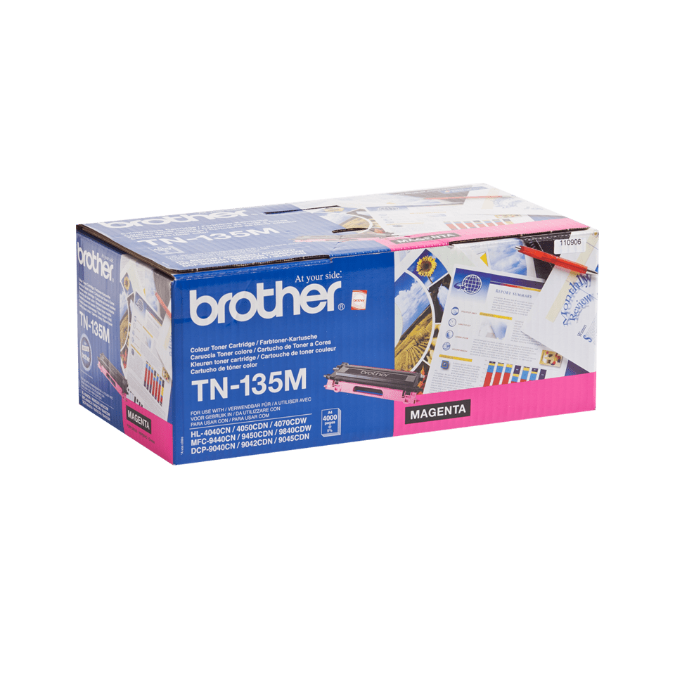 Original Brother TN135M høykapasitetstoner – magenta 2