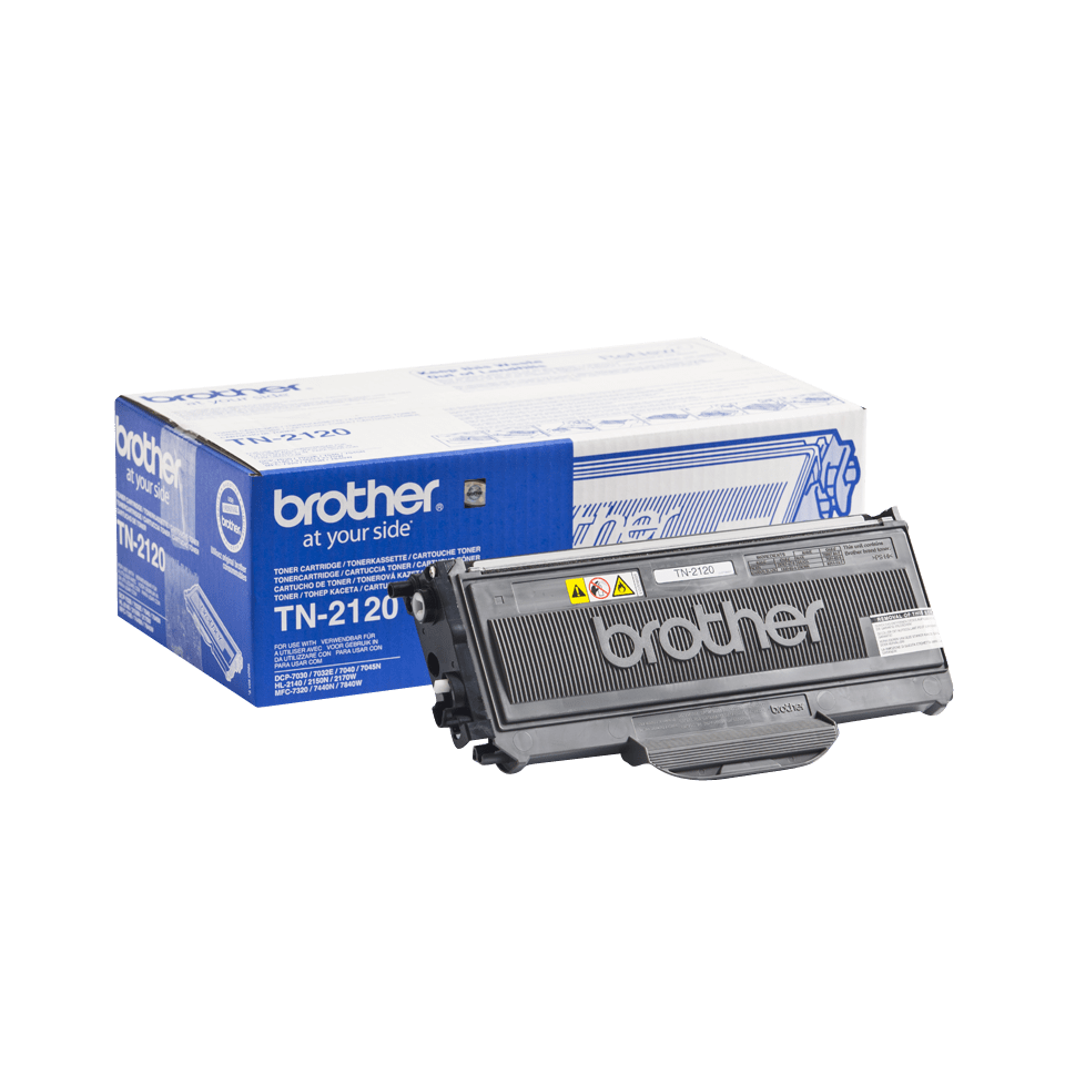 Brother TN2120 original høykapasitet toner sort