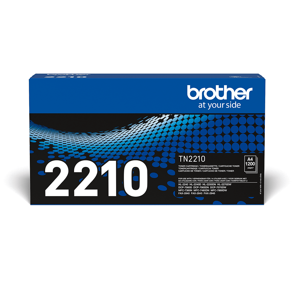 Brother TN2210 original sort toner 2