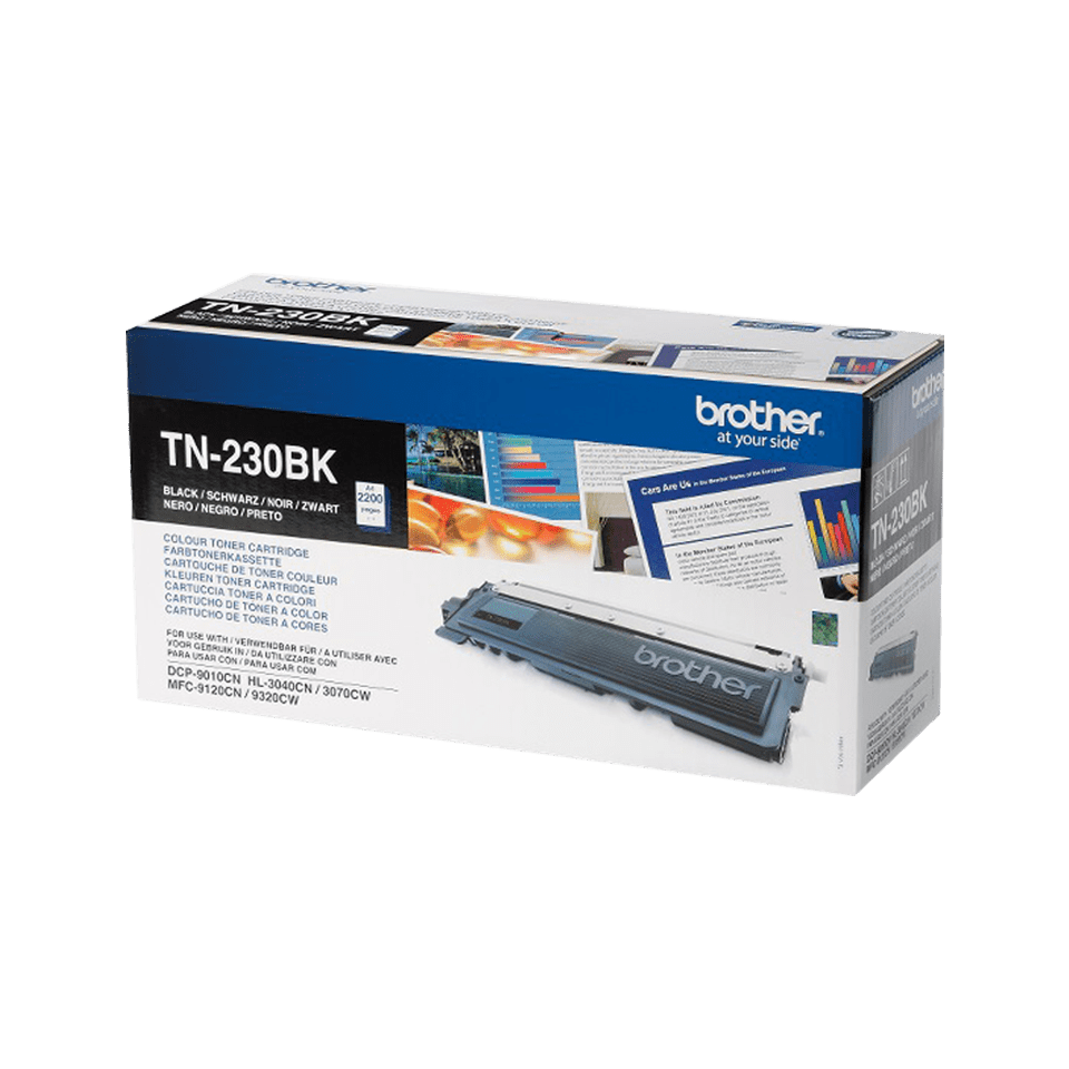 Brother TN230BK original toner sort