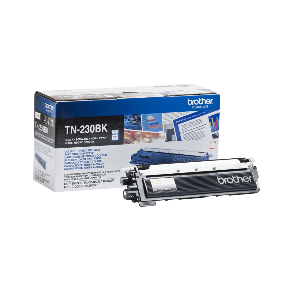 Brother TN230BK original toner sort 2