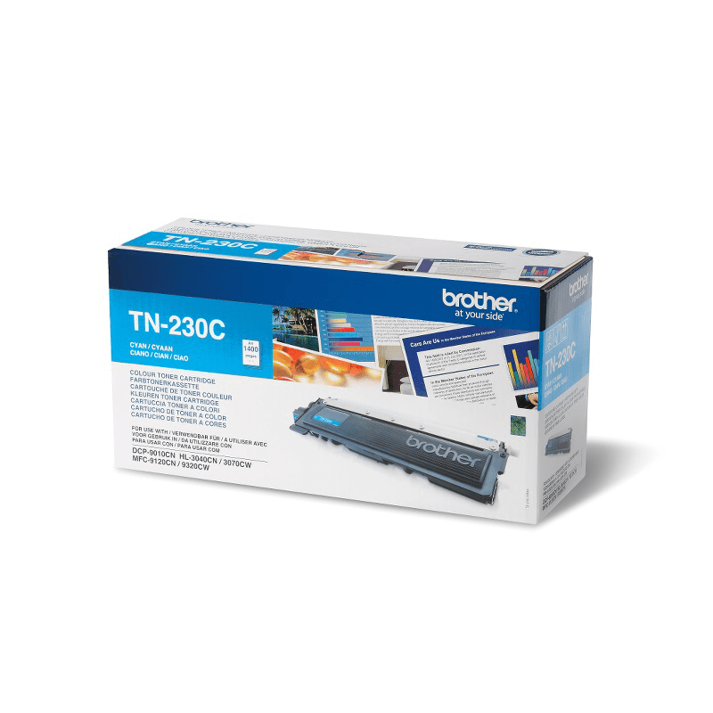 Original Brother TN230C toner - cyan
