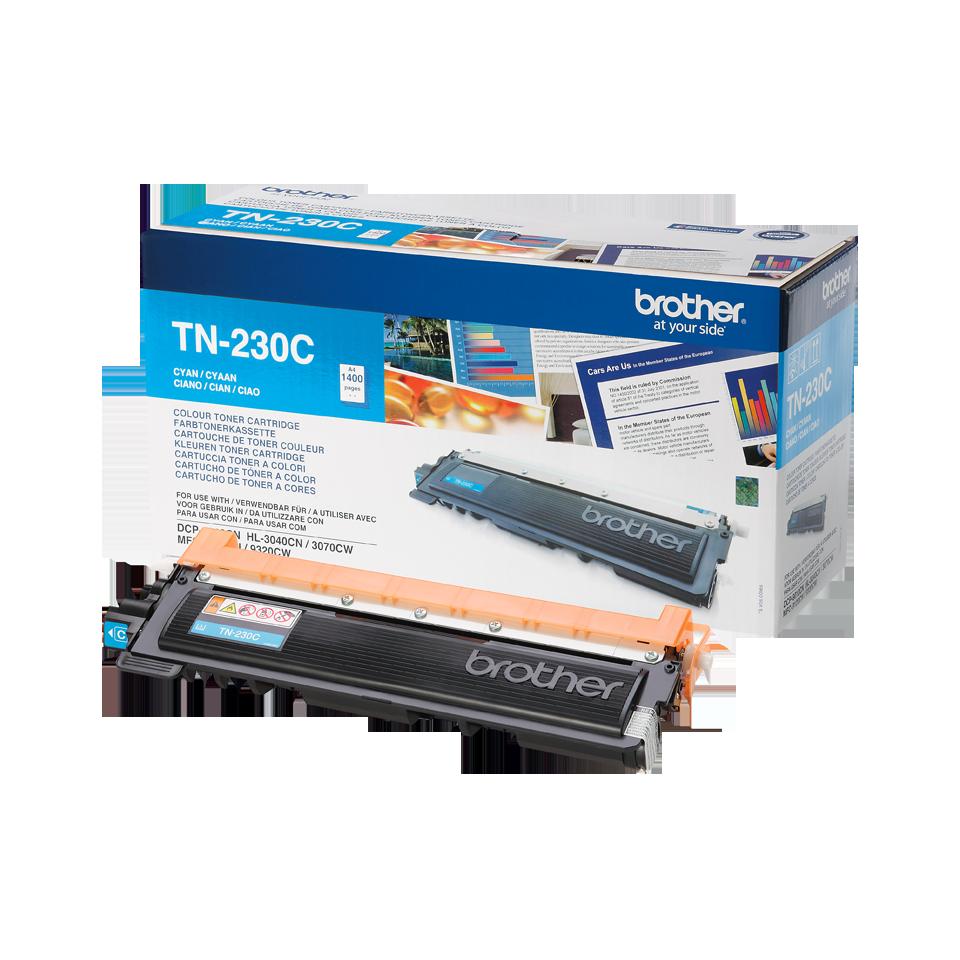 Original Brother TN230C toner - cyan 2