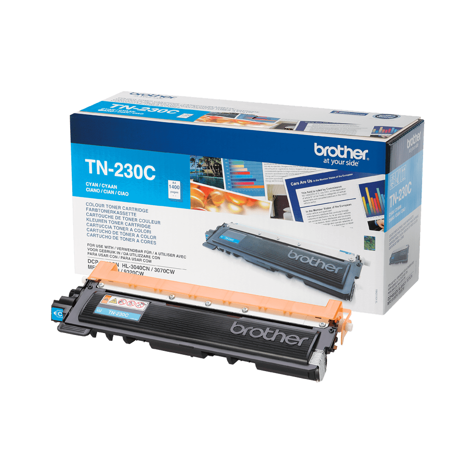 Original Brother TN230C toner - cyan 2