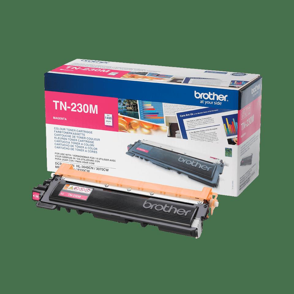 Original Brother TN230M toner – magenta 2