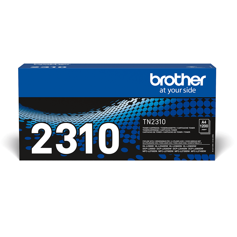 Brother TN2310 original toner sort