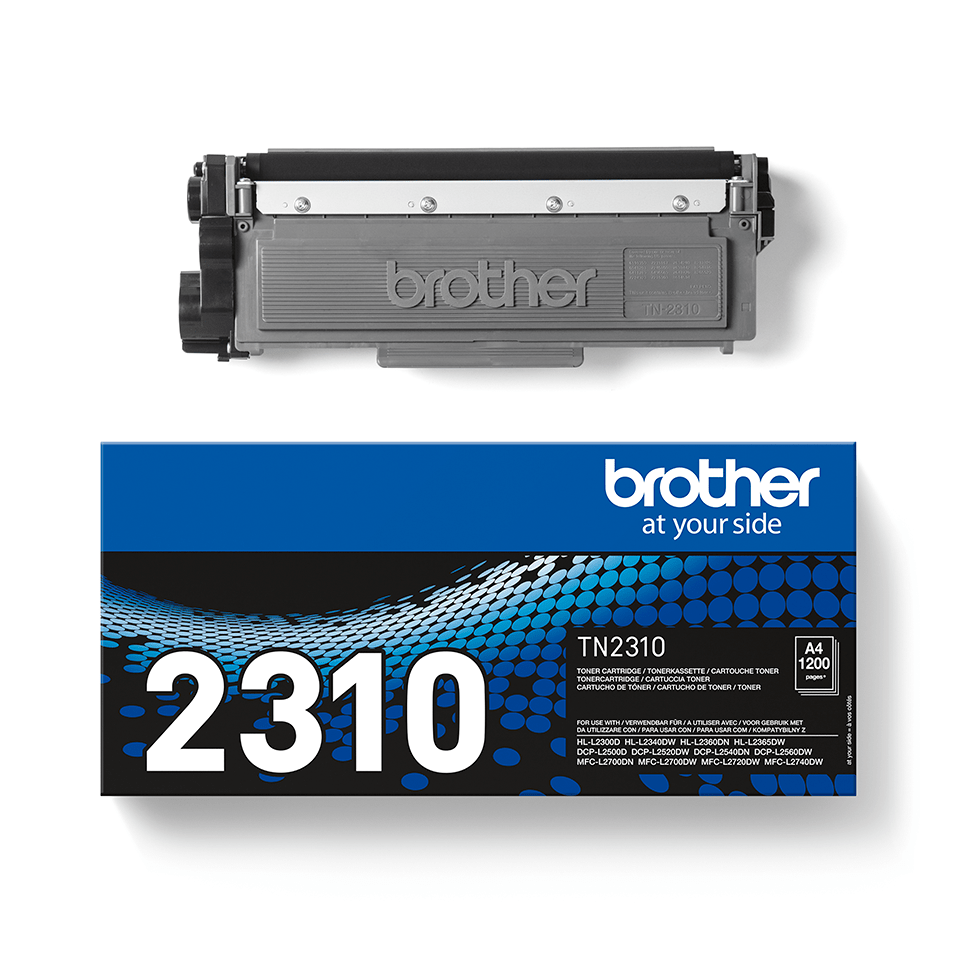 Brother TN2310original toner sort 2