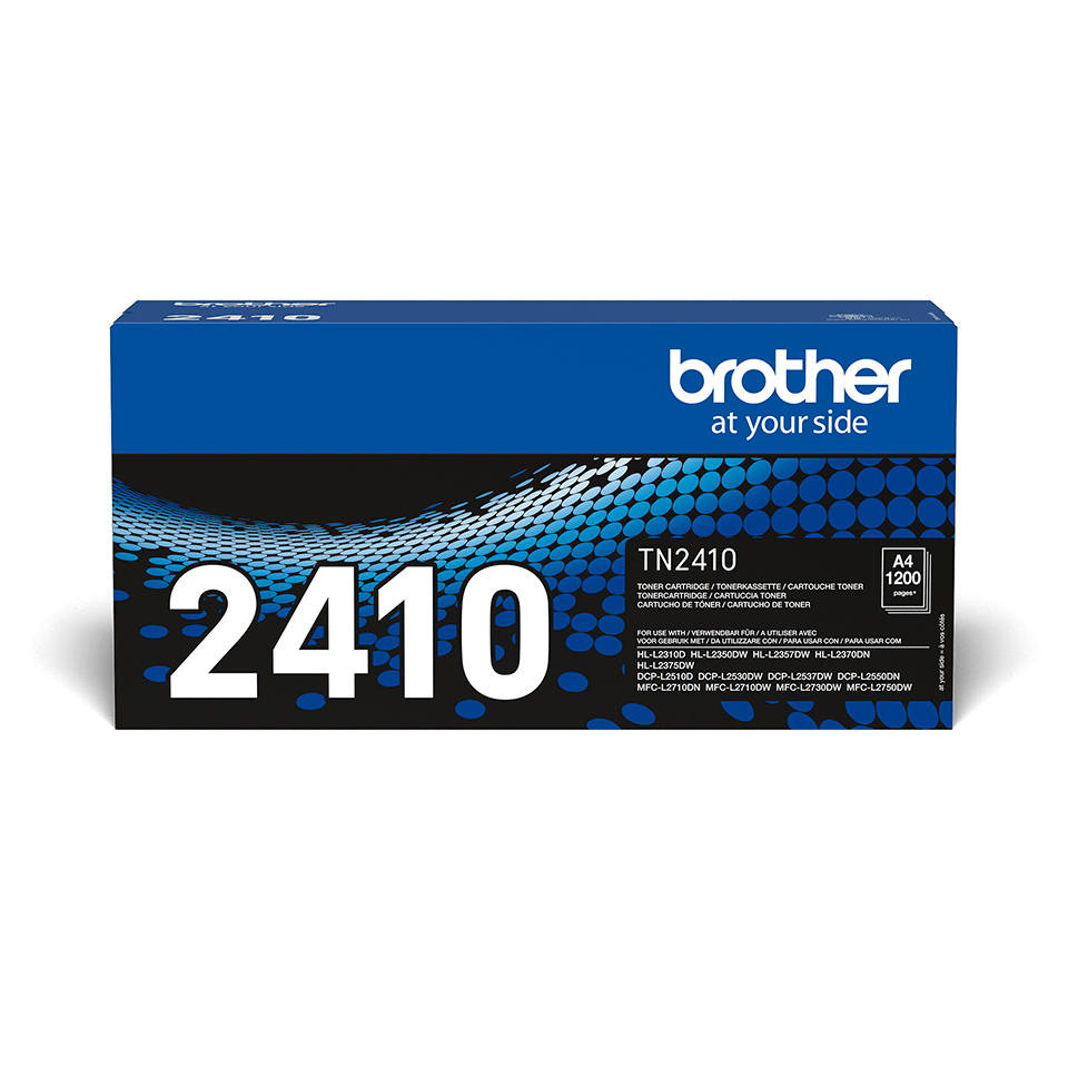 Original Brother TN2410 toner - sort