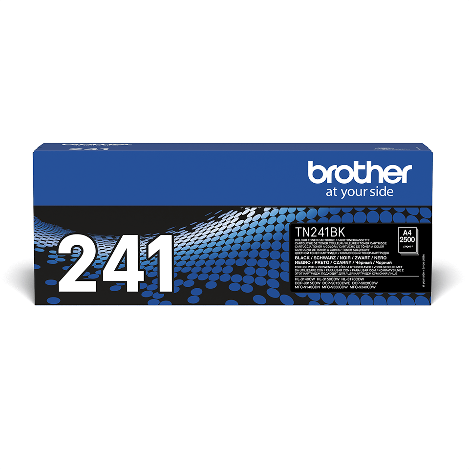 Brother original TN241BK toner sort