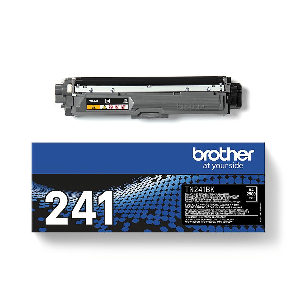 Brother original TN241BK toner sort 2