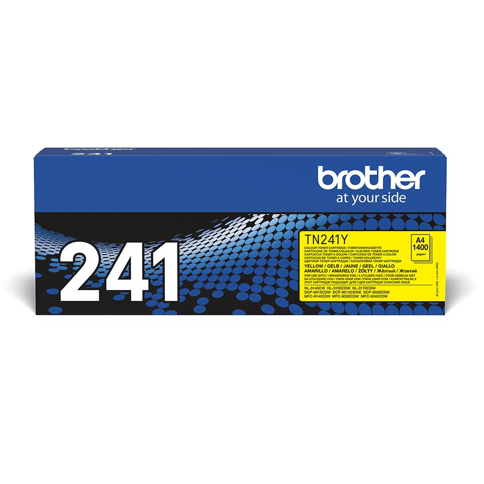Original Brother TN241Y toner – gul 2