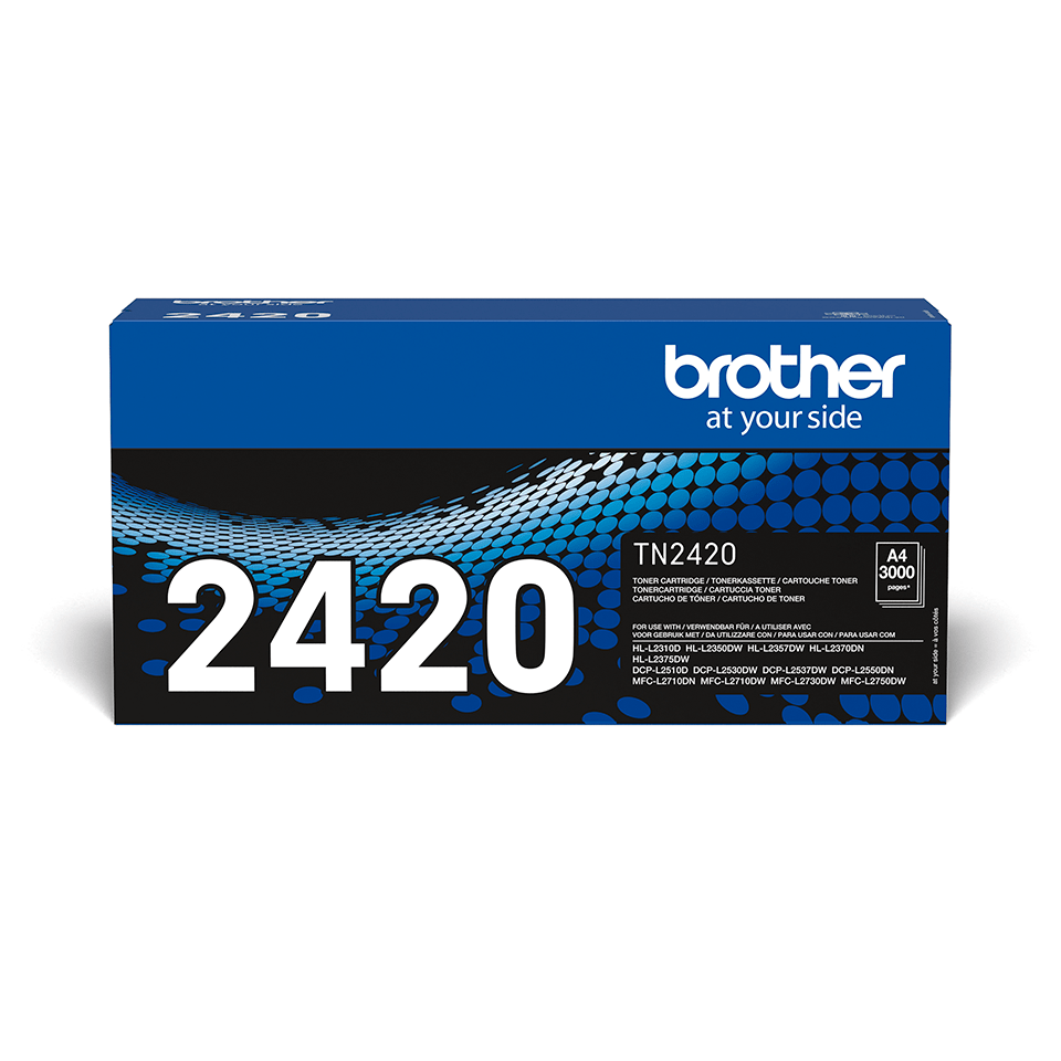 Original Brother TN2420 høykapasitet toner - sort