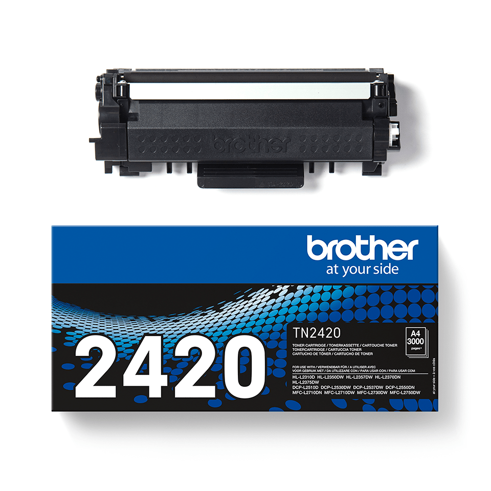 Original Brother TN2420 høykapasitet toner - sort 2