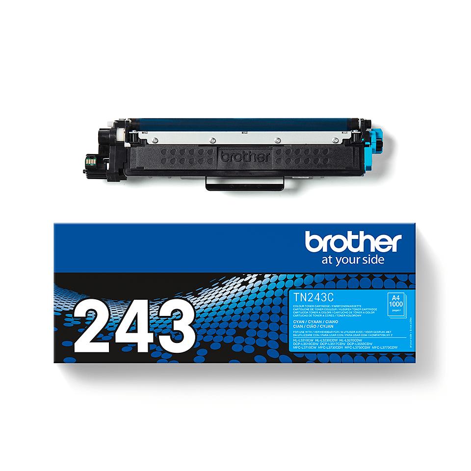 Original Brother TN243C toner - cyan 3