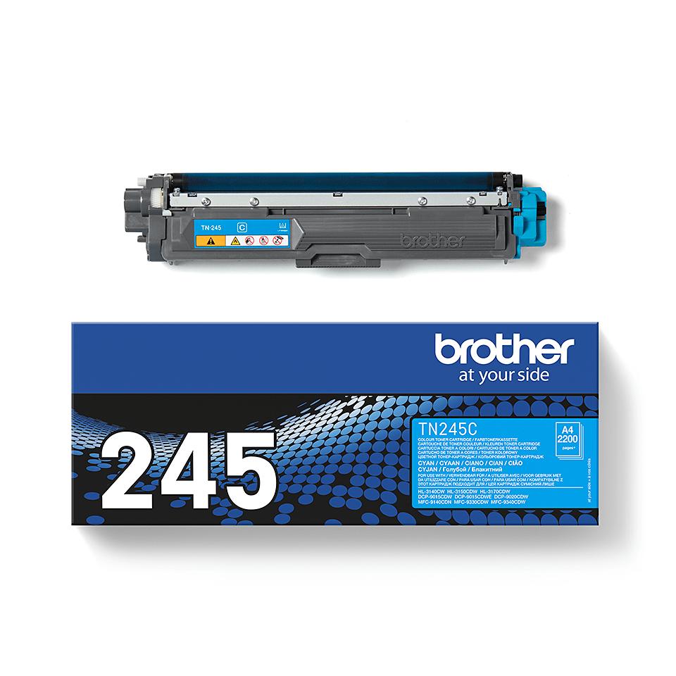 Brother TN245C original høykapasitet toner cyan 2