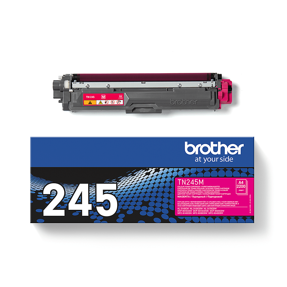 Original Brother TN245M  høykapasitet toner – magenta 2