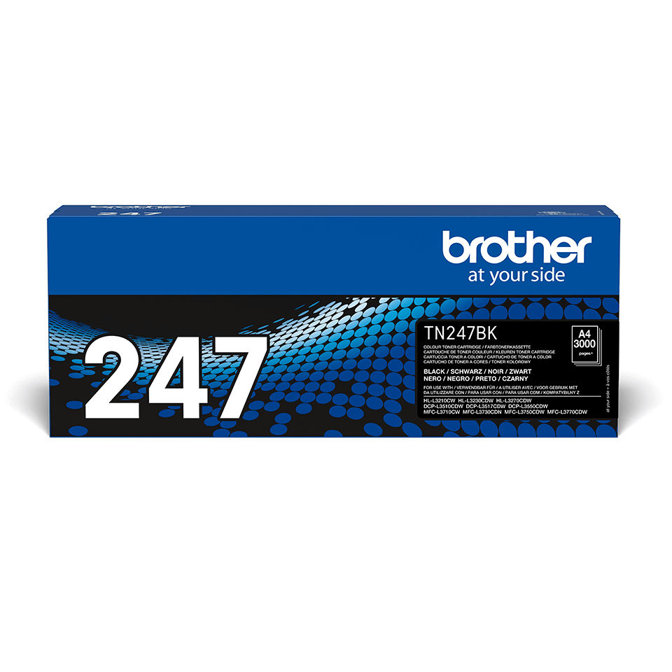 Original Brother TN247BK høykapasitet toner - sort
