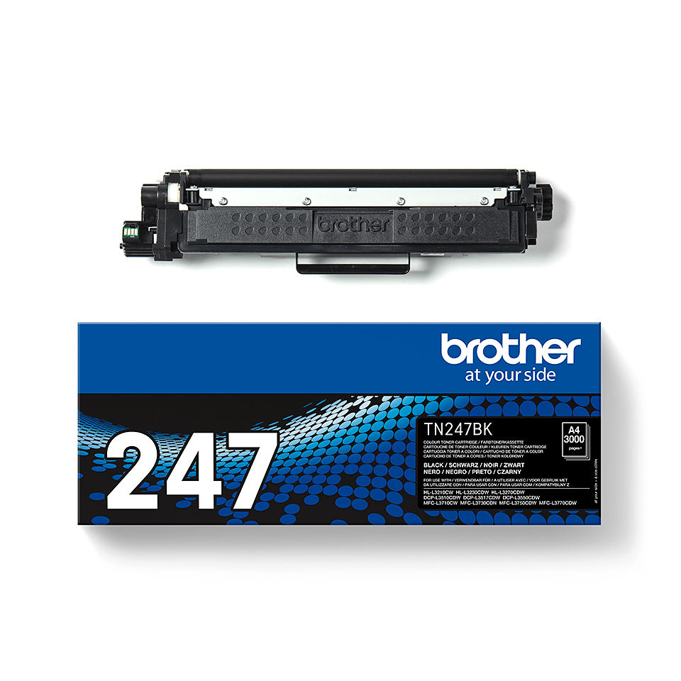 Original Brother TN247BK høykapasitet toner - sort 3